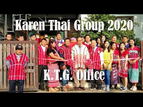 Karen Thai Group: K.T.G. Open Office In Chiangmai Thailand)(22,01,2020)