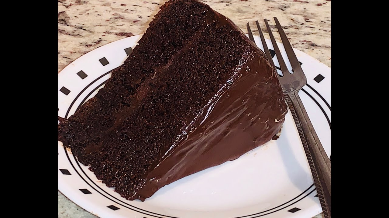 SOFT AND DELICIOUS WHEAT FLOUR CHOCOLATE CAKE RECIPE IN ...