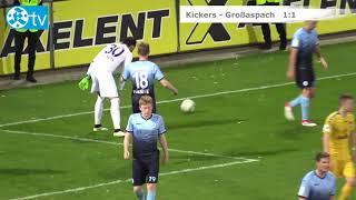 DB Regio WFV-Pokal, Viertelfinale, Stuttgarter Kickers vs Sonnenhof Großaspach-Spielbericht