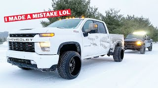 I MADE MY 2020 DURAMAX COMPLETELY USELESS OFFROAD... FT. Jeep Winner Takes Delivery!!!
