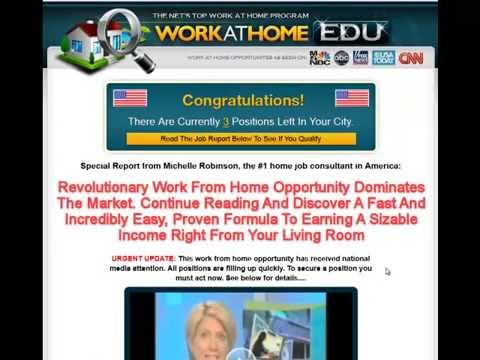 Work At Home EDU - TRUTH - Know THIS.