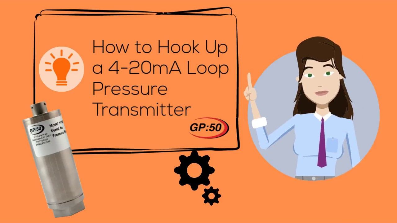 How To Hook Up A 4 20 Ma Loop Youtube Temperature Sensor Current Transmitter