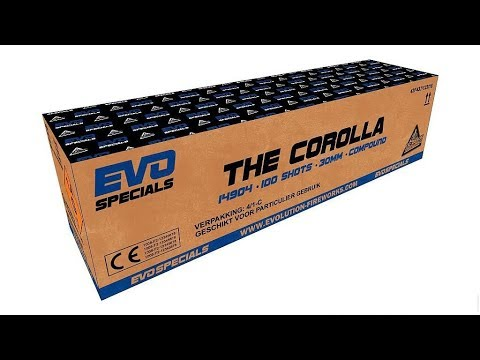The Corolla Evolution Fireworks (nieuw 2018)