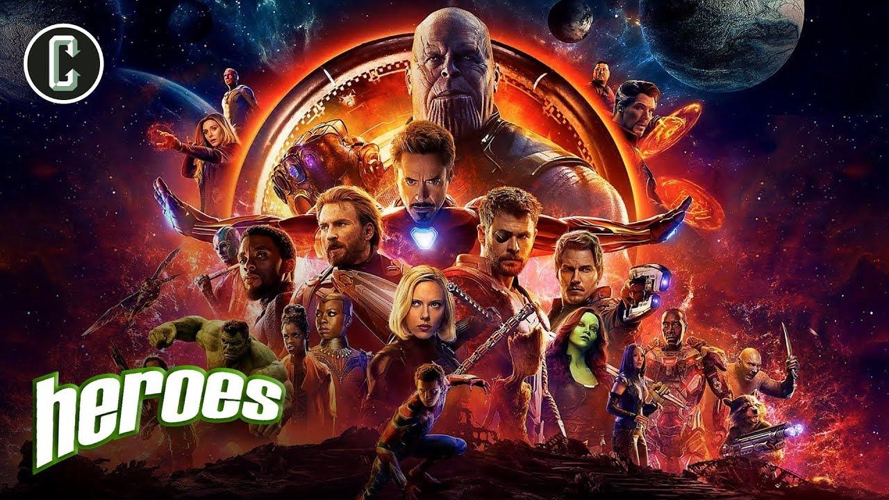 Avengers: Infinity War Trailer Unlocked – Heroes
