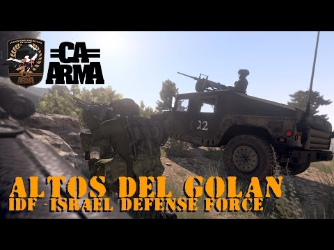 Arma 3 - CAA - Altos del Golan - IDF