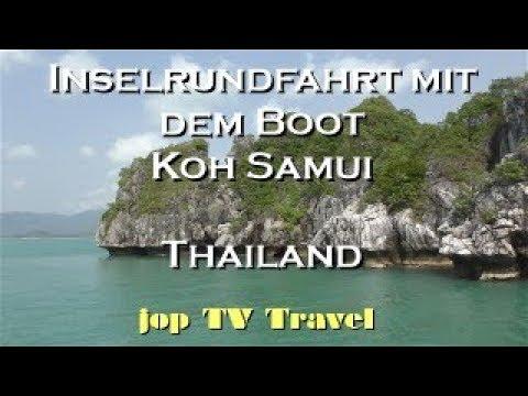 Inselrundfahrt Mit Dem Boot Koh Samui (Thailand) Vacation Travel Video Guide Jop TV Travel 4k