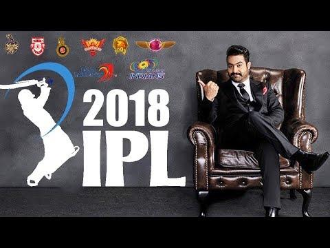 Jr NTR Press Conference On IPL 2018 | LIVE | TFPC