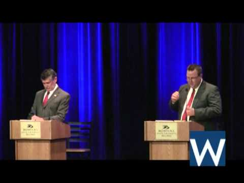 Jon Tester and Denny Rehberg spar in second U.S. Senate debate.