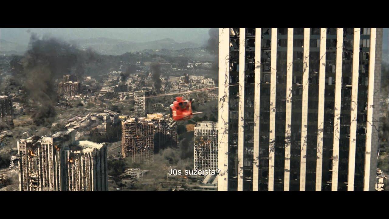 SAN ANDREAS - Dwayne Johnson katastrofų trileryje kinuose nuo gegužės 29 d.