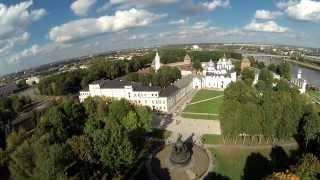 Новгородский кремль.(Великий Новгород - кремль, в видео использована музыка Игорь Крутой -