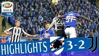 Sampdoria - Juventus 3-2 - Highlights - Giornata 13 - Serie A TIM 2017/18