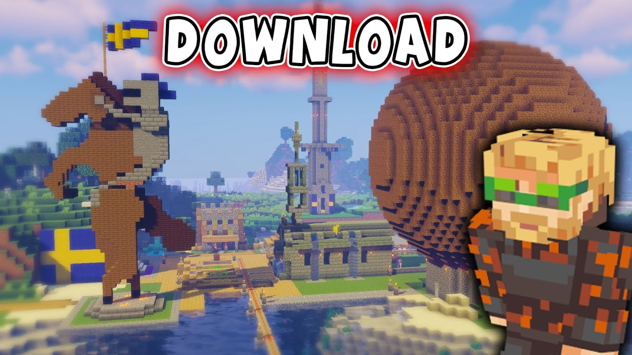 How To Download Pewdiepie S Minecraft World On Pe Bedrock Edition Youtube