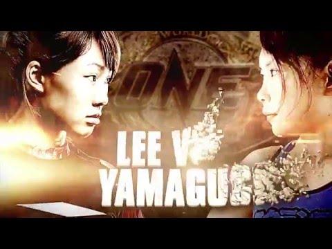 Singapore's Angela Lee vs Japan's Mei Yamaguchi | ONE Atomweight World Championship