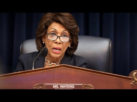 Maxine waters facebook cryptocurrency