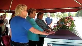 Grandma Barnes Burial