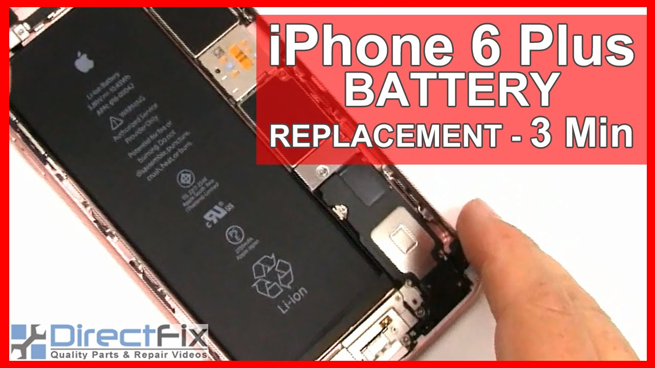 How to iPhone 6 Plus Battery Replacement done in 3 minutes ... | 1280 x 720 jpeg 120kB