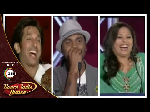 MOST FUNNIEST Auditions On Dance India Dance