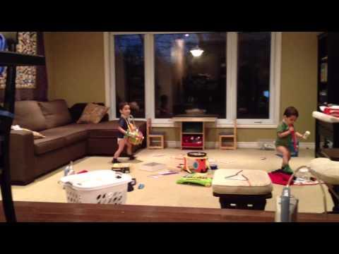 Little Drummer (& Recorder) Boys