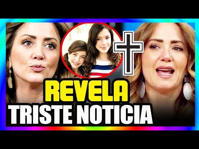???? Â¡ Hace un Momento ! Andrea Legarreta da TRISTE NOTICIA ? de sus HIJAS !