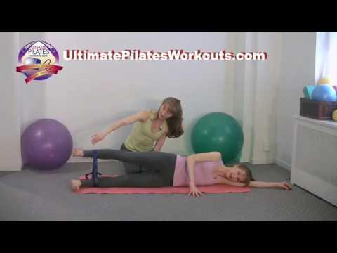 Pilates Workout Exercise: Hot Potato with Band