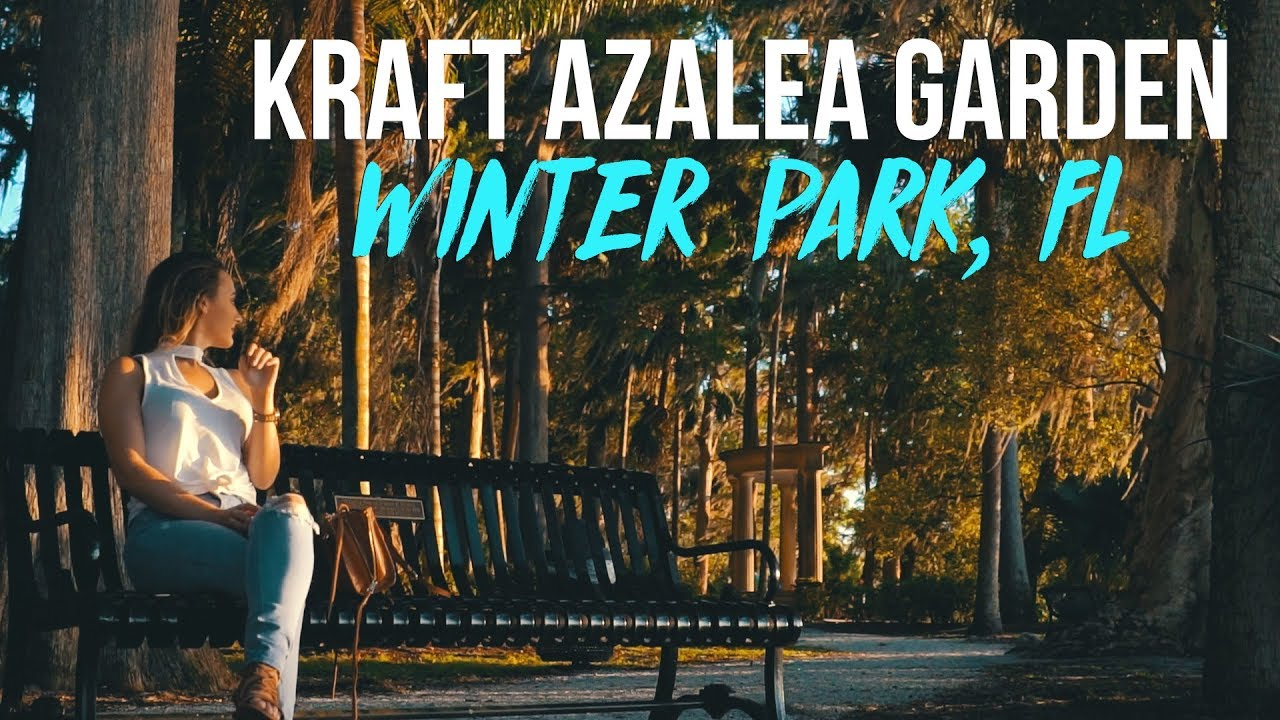Kraft Azalea Garden | Winter Park | Orlando, Florida | Cinematic ...