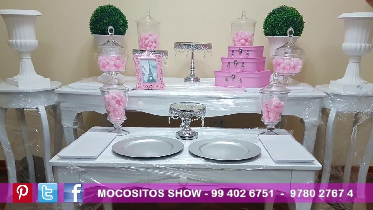 Alquiler de mobiliario mesas vintage fiestas lindas - Decorar mesas para eventos ...