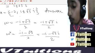 Chapter 3 Equations Part 3 Maths First Year Class - Sindh