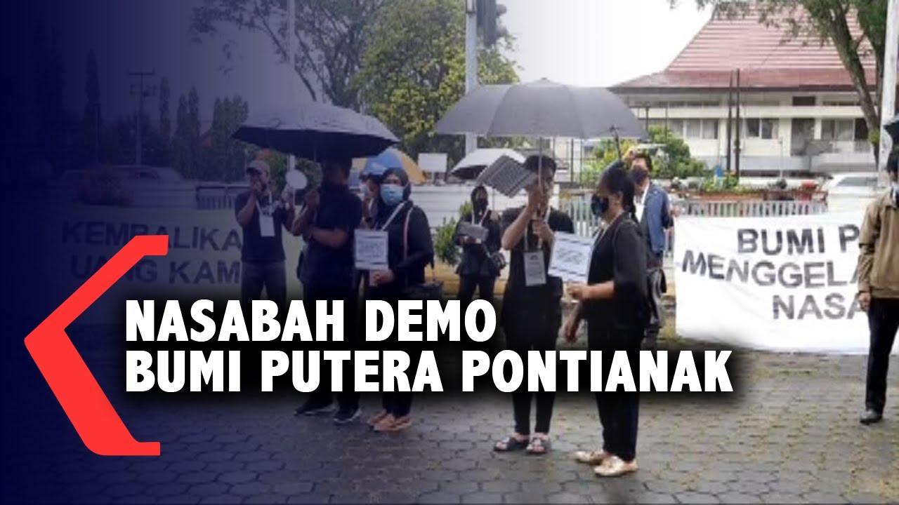 Klaim Asuransi Bermasalah Nasabah Demo Kantor Bumi Putera Pontianak Youtube