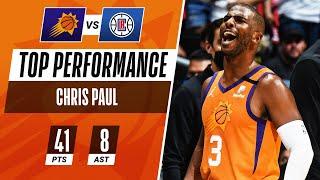 Chris Paul MAKES FIRST NBA FINALS in CLUTCH 41 PT Performance! 🔥