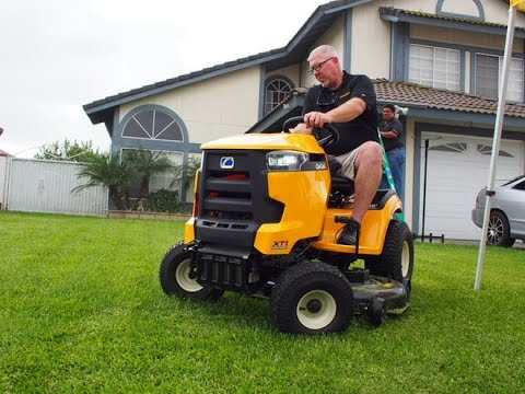 Cub Cadet XT1 Enduro Series Riding Mower - Highlights and Features