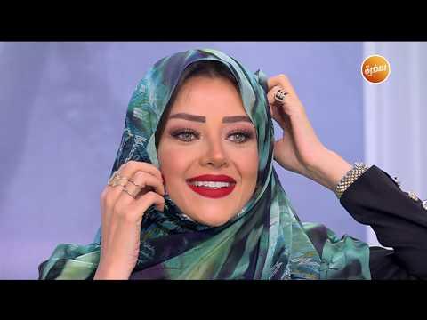رضوى الشربيني ترتدي الحجاب على الهواء | هي وبس