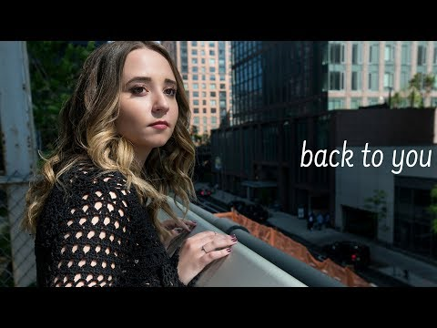 Back to You - Selena Gomez (Acoustic) Cover by Ali Brustofski - Music Video