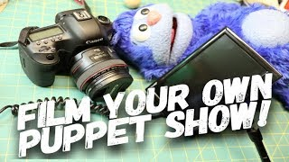 Start Your Own Puppet Show!