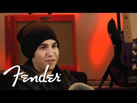 Pete Wentz on the Precision Bass | Fender