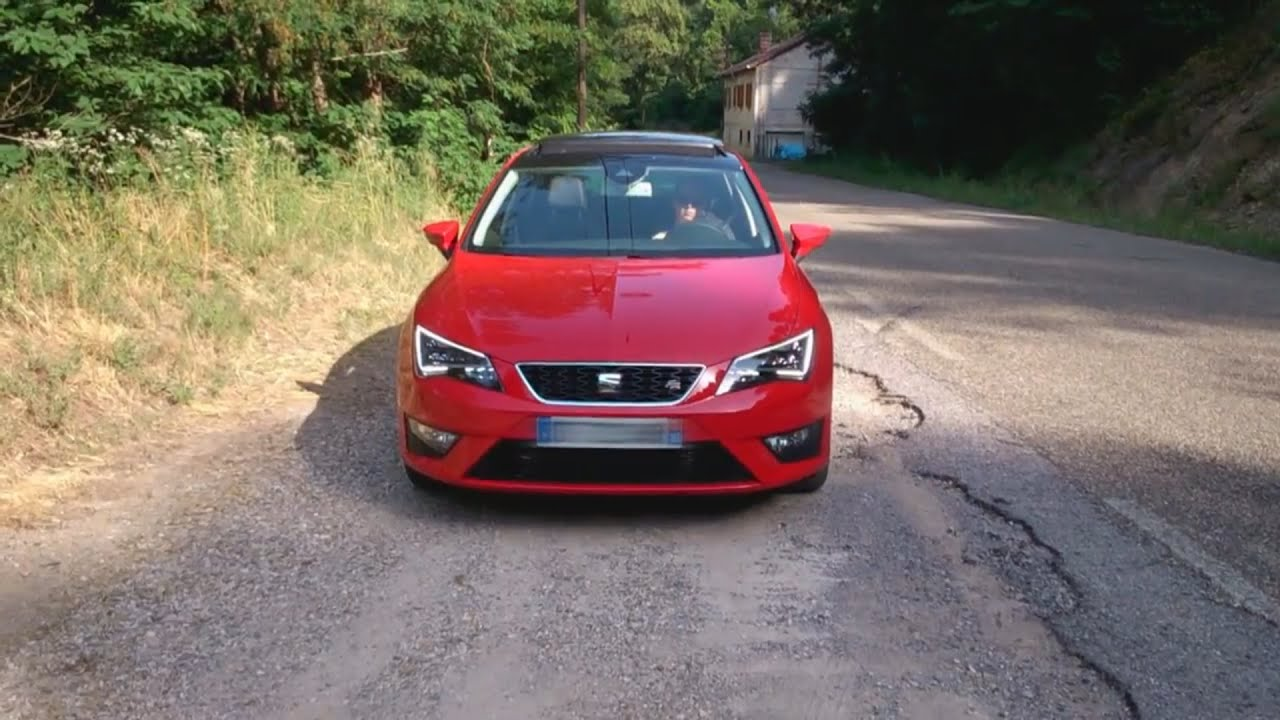 seat leon 3 fr 2 0 tdi 150 start stop youtube. Black Bedroom Furniture Sets. Home Design Ideas