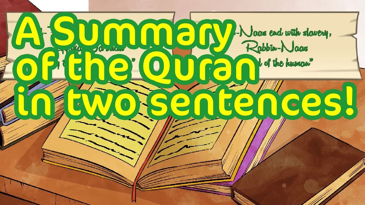 A Summary of the Quran in two sentences! | Subtitled