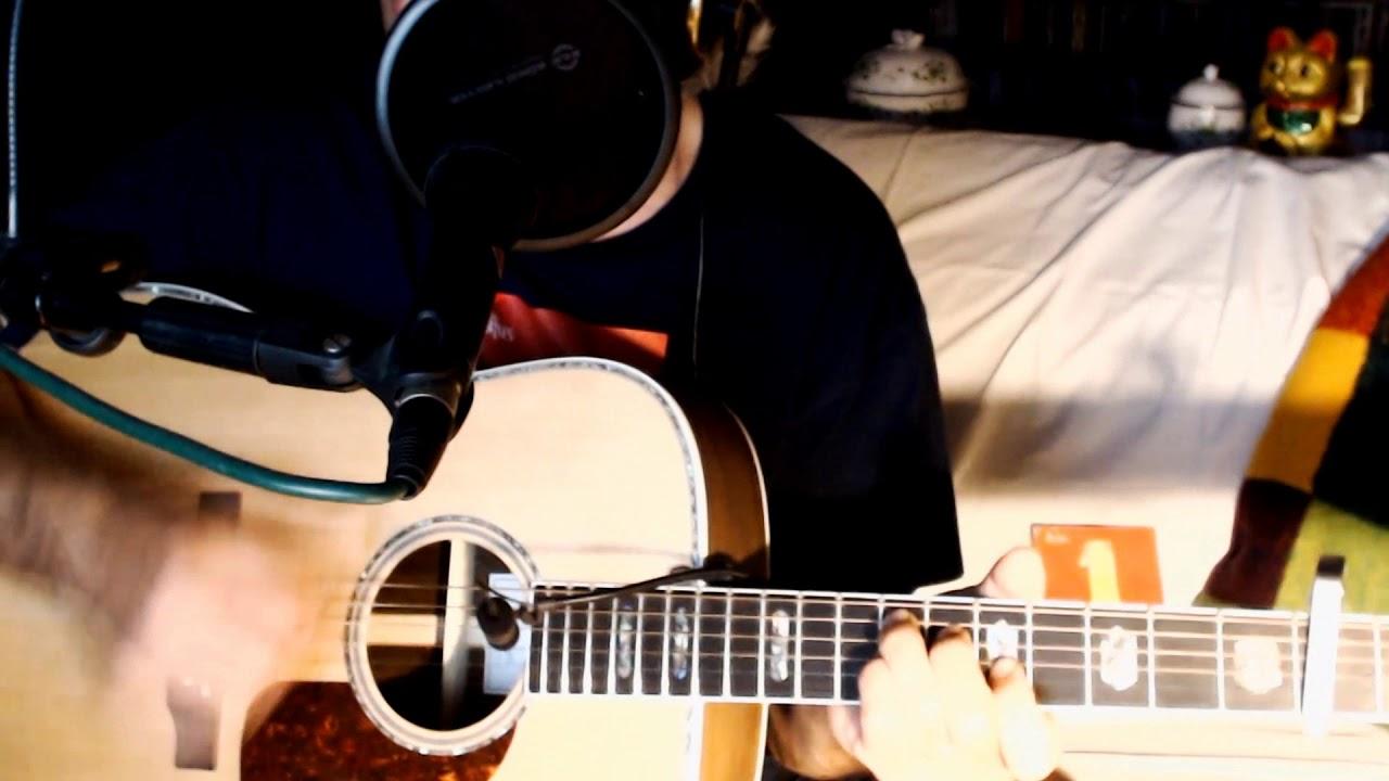 #7🎇 Hey Jude ~ The Beatles - Macca ~ Cover w/ Harley Benton Custom Line CLD-41SE WN & Egg-Shaker