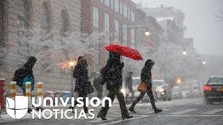 El invierno se adelanta con un saldo mortífero y destructivo en varios estados de EEUU
