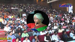 Bharatheeyam Satyavani gari talk at IMPACT 2018