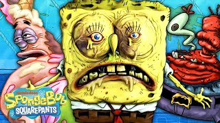 Every DISGUSTING Moment Ever On SpongeBob 🤢
