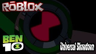 No Omnitrix Allowed!!! || Roblox Ben 10 Universal Showdown