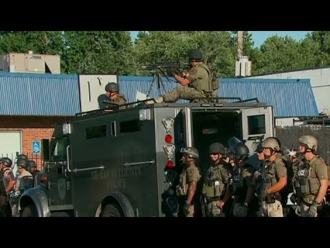 How robbery led to police militarization