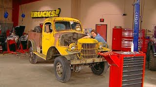 Turning A 1941 Dodge Army Truck into Sergeant Rock - Trucks! S6, E8