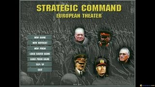 Strategic Command: European Theater gameplay (PC Game, 2002)