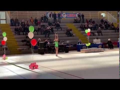 Gara vibbo valentia ginnastica ritmica primo individuale / alé ❤️