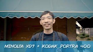 MINOLTA XD7 + KODAK PORTRA 400 // QUICKIE ROLL #45 - RENALDY FK