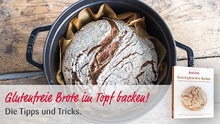 Glutenfreies Brot im Bräter backen | einfache Anleitung