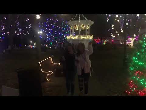 Gallipolis In Lights L 2018 Youtube
