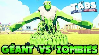 GÉANT VS ZOMBIES !   TOTALLY ACCURATE BATTLE SIMULATOR FR