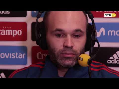 Entrevista a Andrés Iniesta en El Larguero